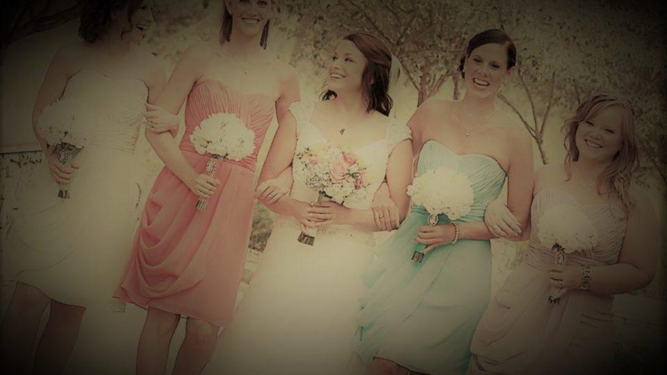 multicolor bride