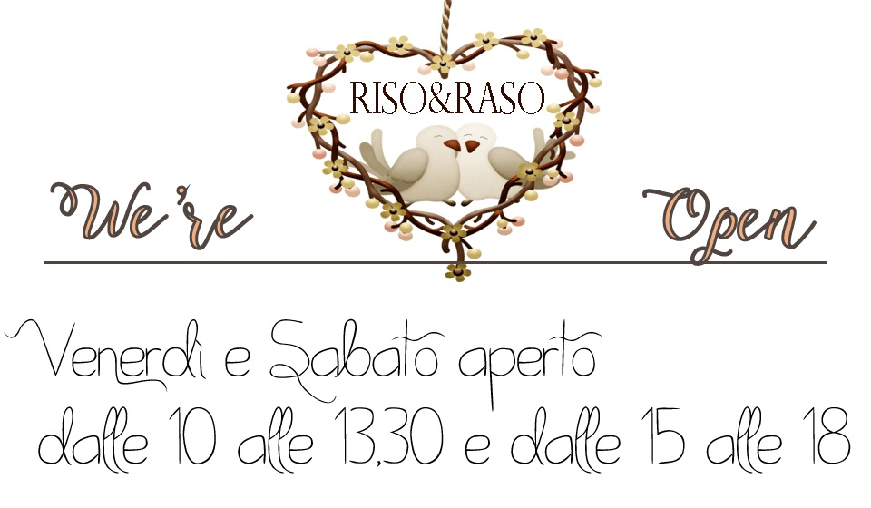 RISO&RASO its-open