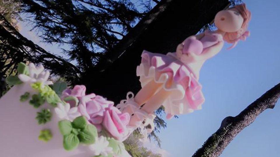 cake topper risomais ballerina lilla blog