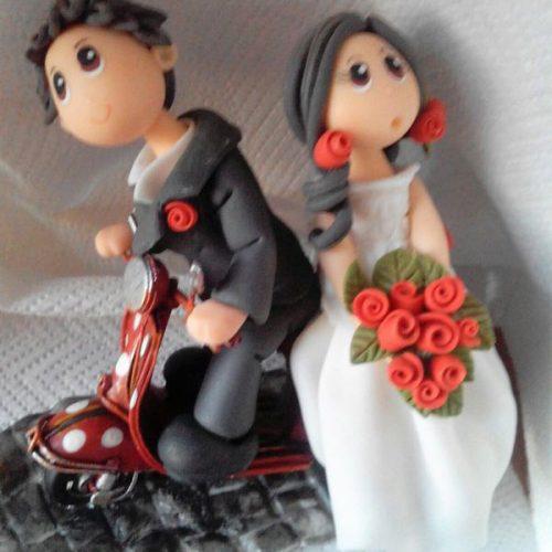 I miei cake topper per matrimonio personalizzati