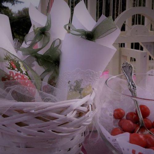 Coni, buste, scatoline, cestini e barattolini portaconfetti per Confettate a Roma