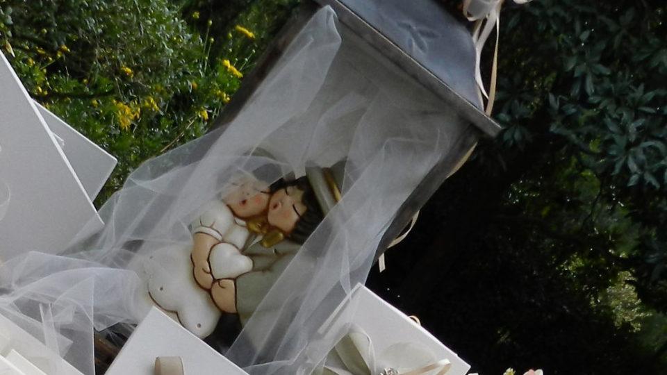 lanterna con sposi thun