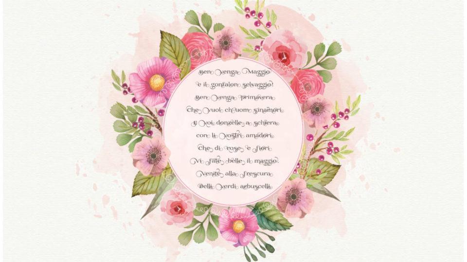 poesia primavera con fiori