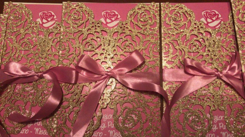 invito astuccio rose 18anni rosa fucsia 2