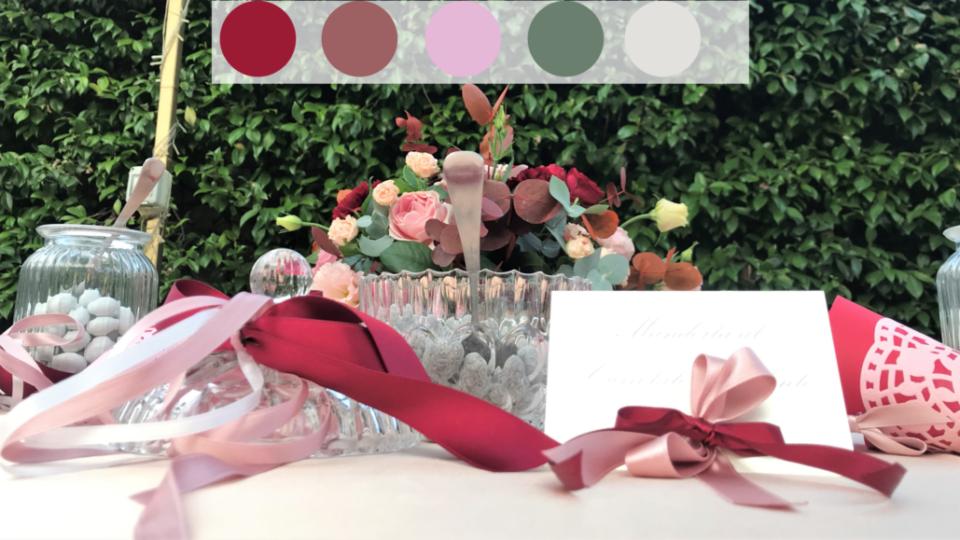 palette colori matrimonio federica