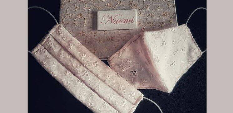 Mascherina personalizzata rosa @scatolificio venturi